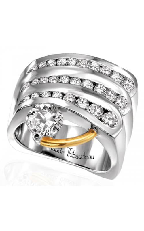 Claude Thibaudeau Pure Perfection Engagement Ring PLT-1101 product image