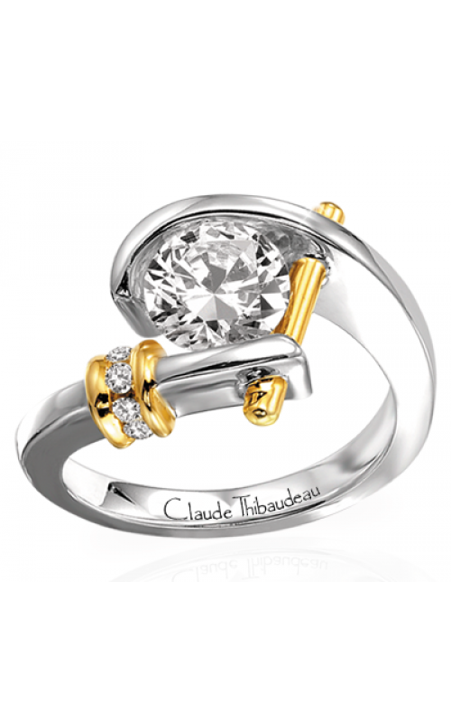 Claude Thibaudeau Pure Perfection Engagement Ring PLT-1125 product image