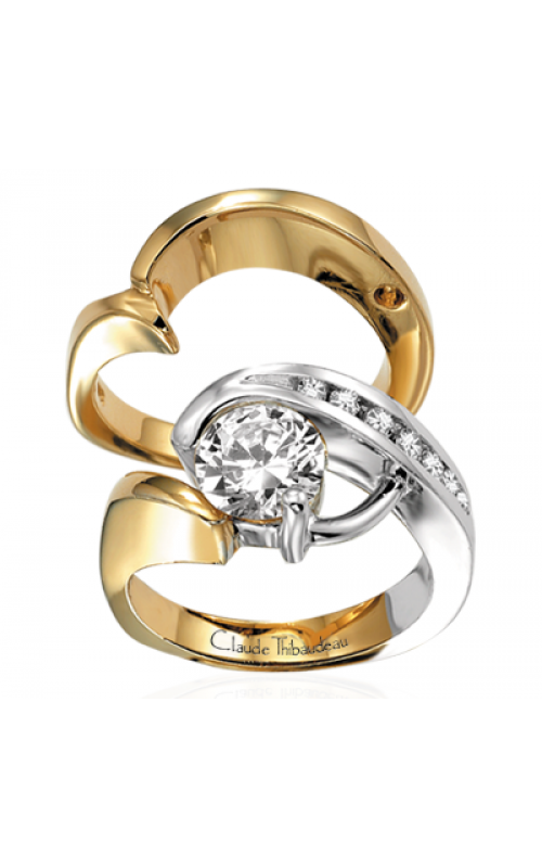 Claude Thibaudeau Pure Perfection Engagement ring PLT-2104 product image