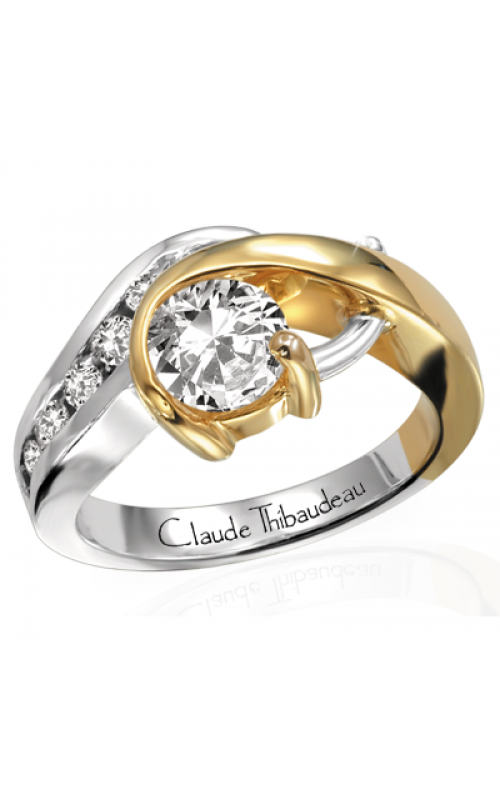 Claude Thibaudeau Pure Perfection Engagement Ring PLT-2103 product image