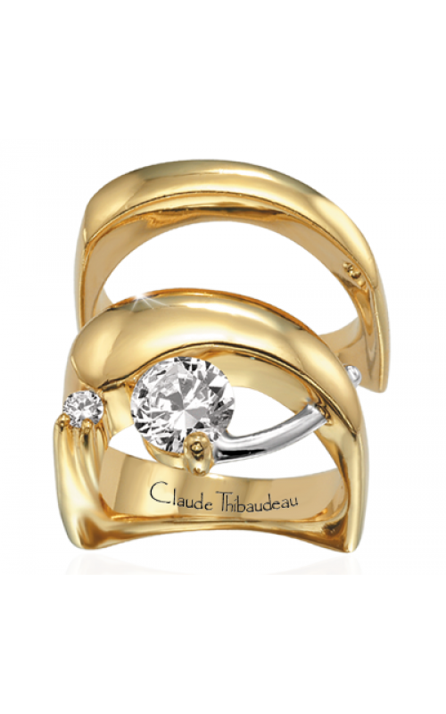Claude Thibaudeau Pure Perfection Engagement ring PLT-219 product image