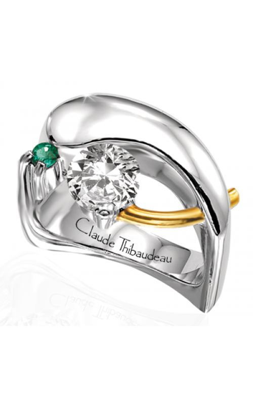 Claude Thibaudeau Pure Perfection Engagement Ring PLT-119 product image