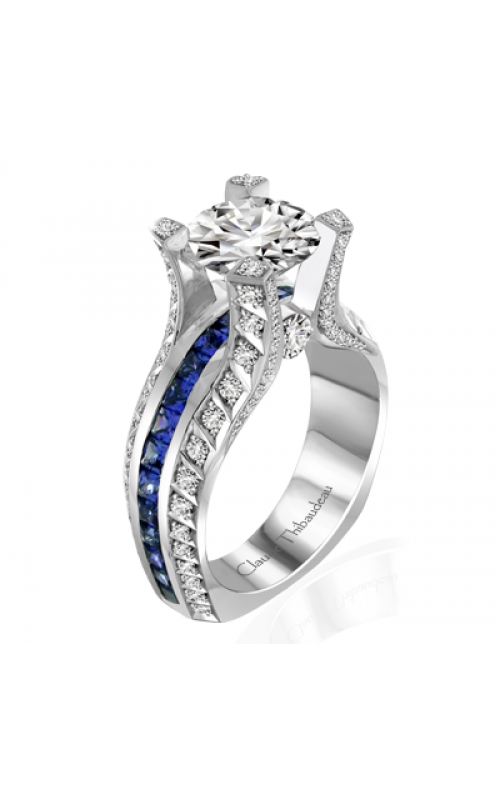 Claude Thibaudeau La Royale Engagement Ring MODPLT-10053-MPB product image