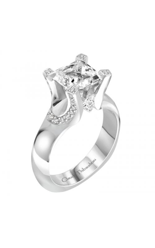 Claude Thibaudeau La Royale Engagement ring PLT-1905-MP product image