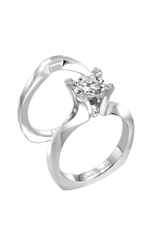 Claude Thibaudeau La Royale Engagement Ring PLT-1841 product image