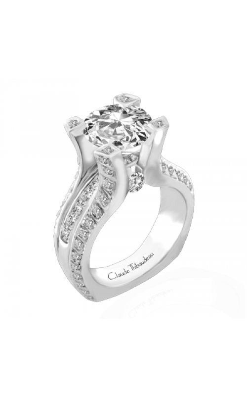 Claude Thibaudeau La Royale Engagement ring MODPLT-1801 product image