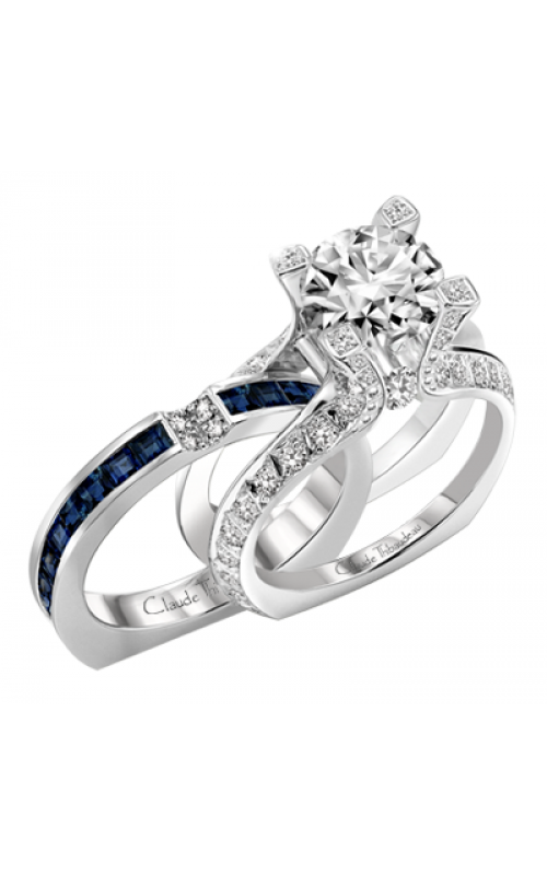 Claude Thibaudeau La Royale Engagement Ring MODPLT-1736 product image