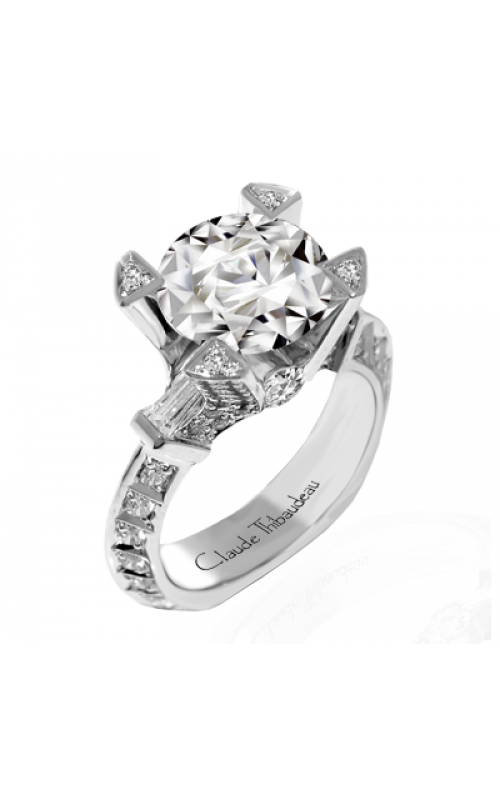 Claude Thibaudeau La Royale Engagement ring MODPLT-1805-MP product image
