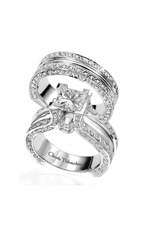 Claude Thibaudeau La Royale Engagement Ring MODPLT-1591 product image