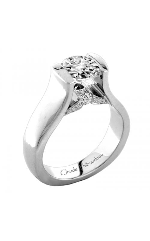 Claude Thibaudeau La Cathedrale Engagement ring PLT-1924-MP product image