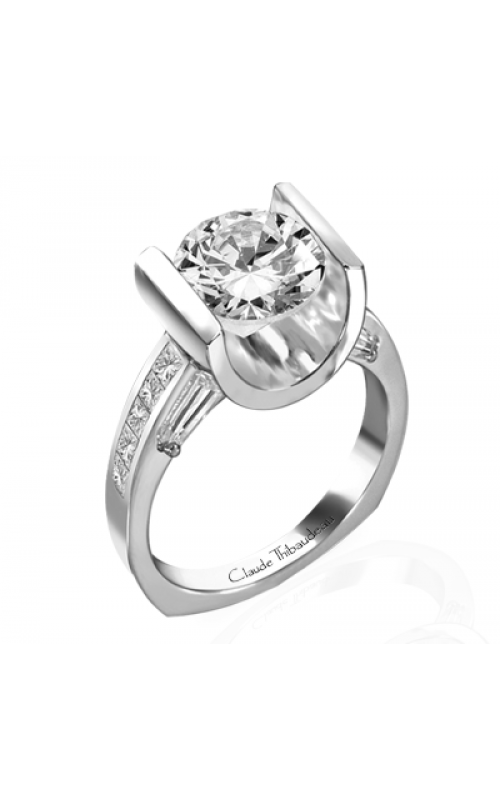 Claude Thibaudeau La Cathedrale Engagement ring PLT-1330 product image