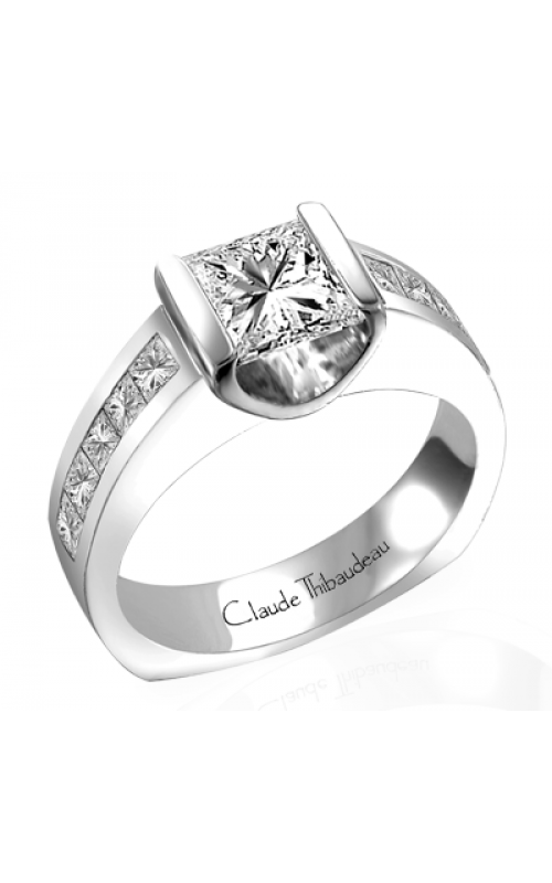 Claude Thibaudeau La Cathedrale Engagement ring PLT-1450 product image
