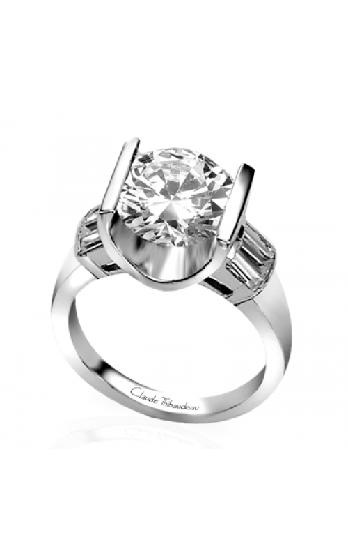 Claude Thibaudeau La Cathedrale Engagement Ring PLT-1253 product image
