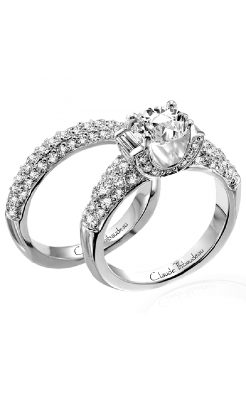 Claude Thibaudeau La Cathedrale Engagement Ring PLT-1652 product image