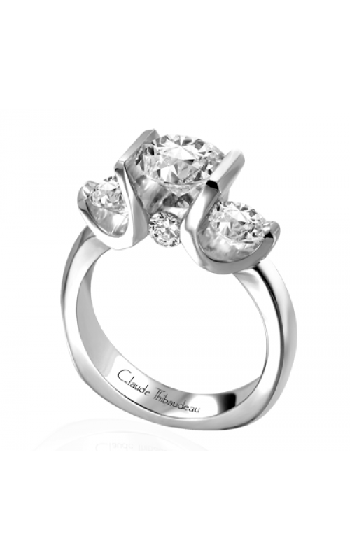Claude Thibaudeau La Trinite Engagement Ring PLT-1644 product image