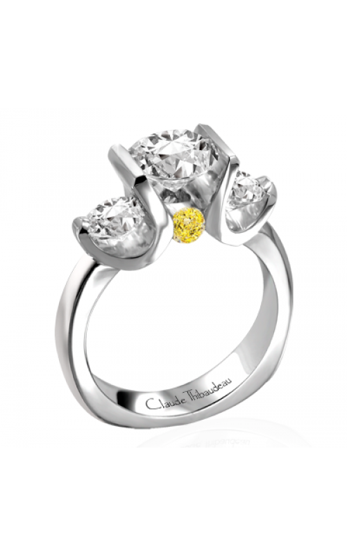 Claude Thibaudeau La Trinite Engagement ring PLT-1728 product image