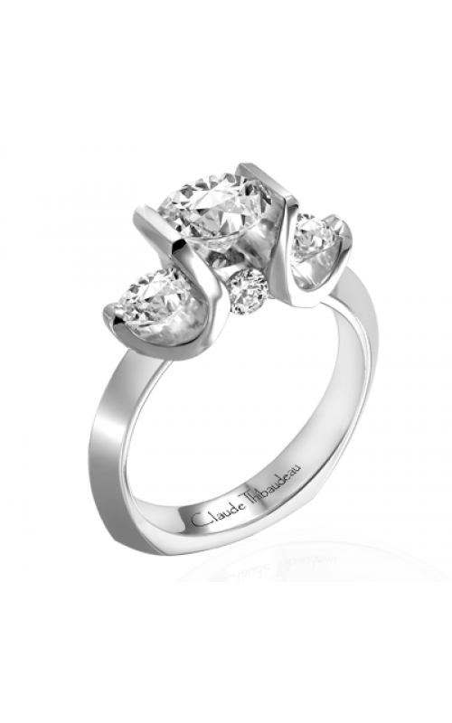 Claude Thibaudeau La Trinite Engagement ring PLT-1705 product image