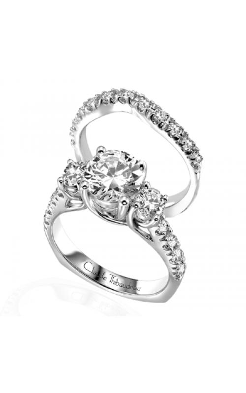 Claude Thibaudeau La Trinite Engagement ring PLT-1581 product image
