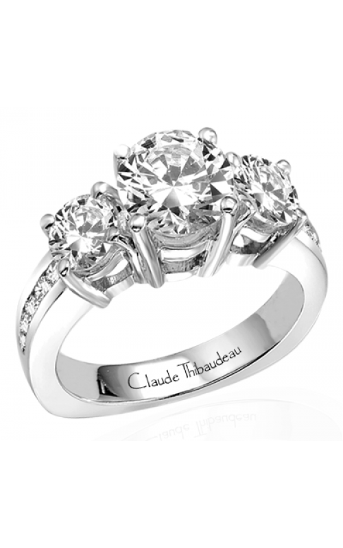 Claude Thibaudeau La Trinite Engagement Ring PLT-1266 product image