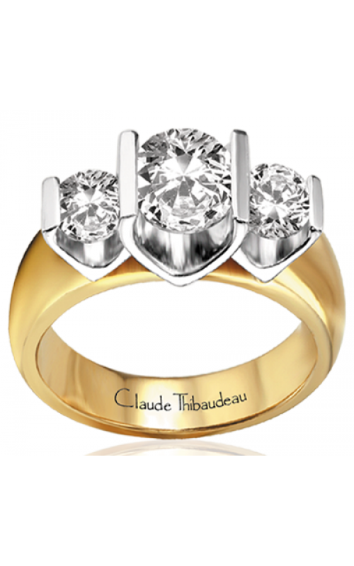 Claude Thibaudeau La Trinite Engagement ring PLT-2275 product image