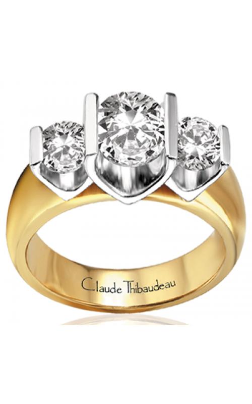 Claude Thibaudeau La Trinite Engagement Ring PLT-2275 product image