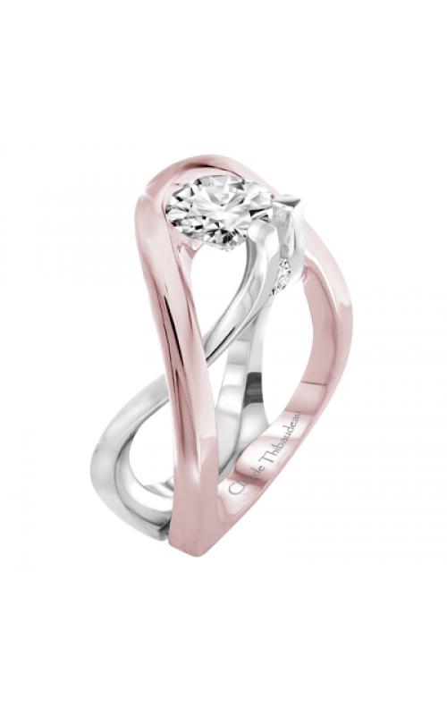 Claude Thibaudeau Avant-Garde Engagement ring PLT-1879R product image
