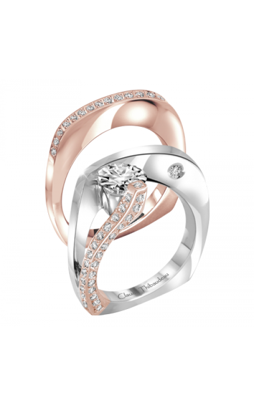 Claude Thibaudeau Avant-Garde Engagement ring PLT-1752R product image
