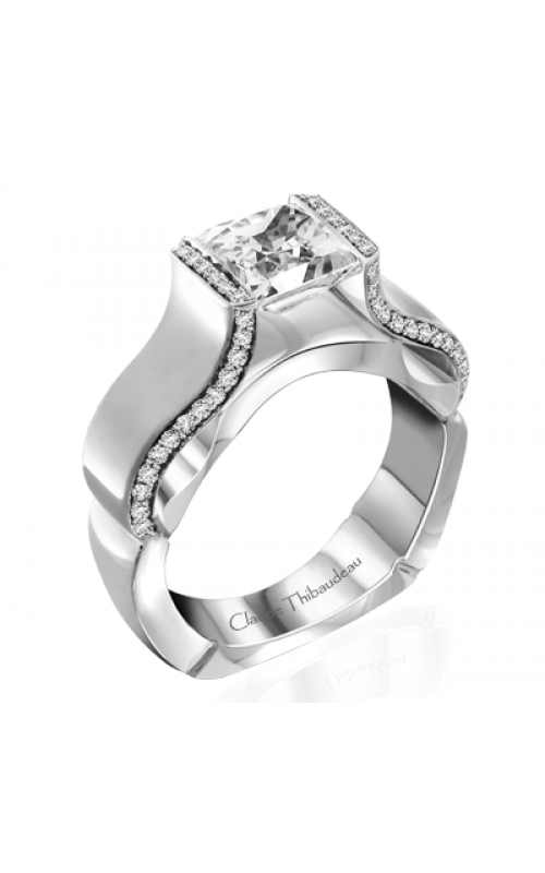 Claude Thibaudeau Avant-Garde Engagement ring PLT-10065-MP product image