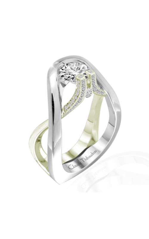 Claude Thibaudeau Avant-Garde Engagement ring PLT-1952V-MP product image