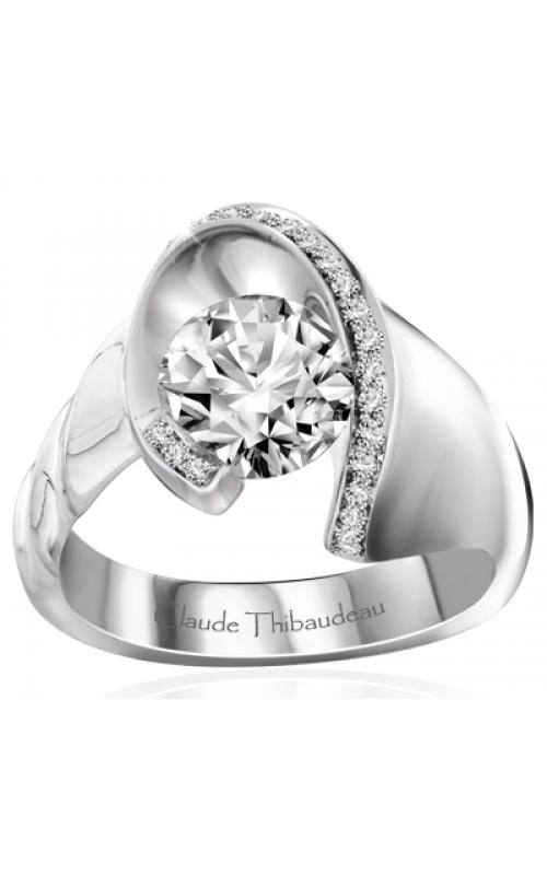 Claude Thibaudeau Avant-Garde Engagement Ring PLT-10043-MP product image