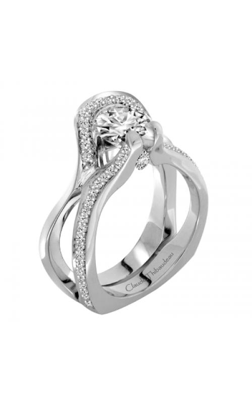Claude Thibaudeau Avant-Garde Engagement Ring PLT-1904-MP product image