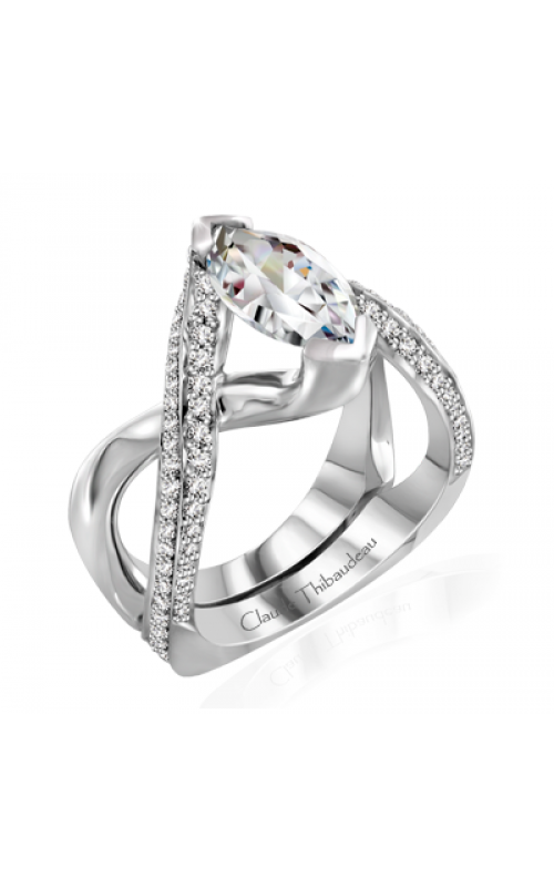 Claude Thibaudeau Avant-Garde Engagement ring PLT-10020-MP product image