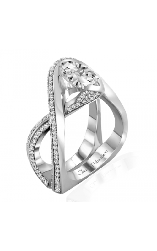 Claude Thibaudeau Avant-Garde Engagement Ring PLT-10004-MP product image
