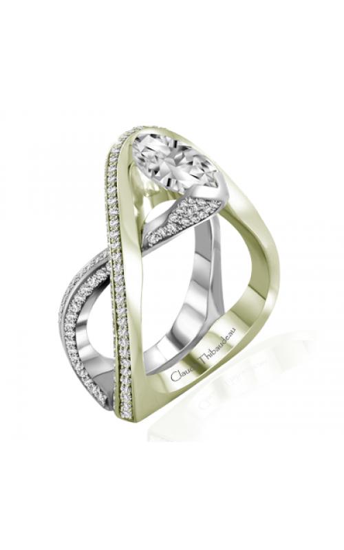 Claude Thibaudeau Avant-Garde Engagement ring PLT-10004V-MP product image