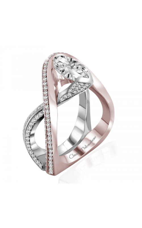 Claude Thibaudeau Avant-Garde Engagement ring PLT-10004R-MP product image