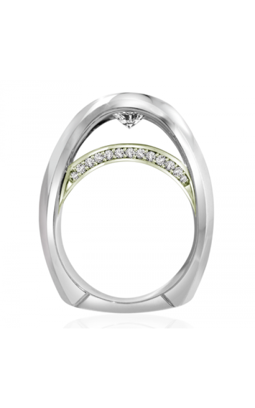 Claude Thibaudeau Avant-Garde Engagement ring PLT-1882V-MP product image