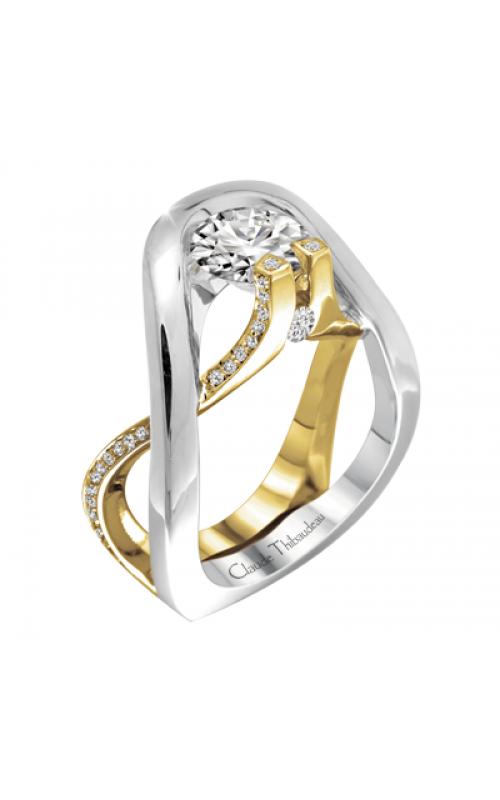 Claude Thibaudeau Avant-Garde Engagement ring PLT-1884Y-MP product image