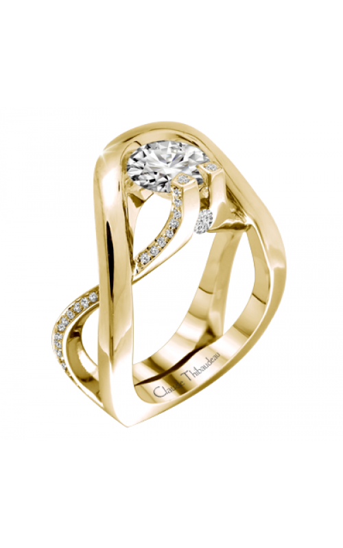 Claude Thibaudeau Avant-Garde Engagement Ring PLT-2884YY-MP product image