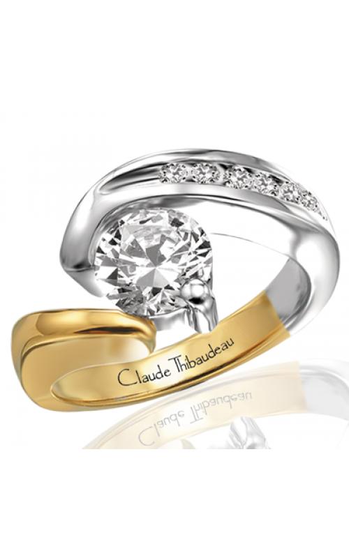 Claude Thibaudeau Avant-Garde Engagement ring PLT-2070 product image