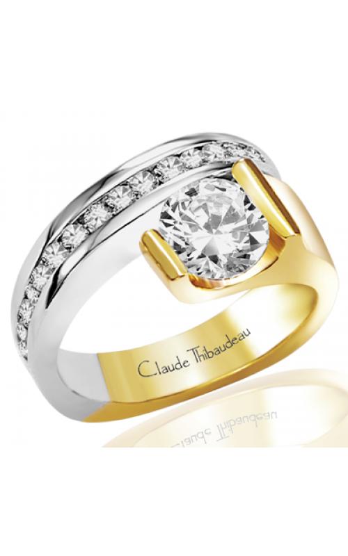 Claude Thibaudeau Avant-Garde Engagement ring PLT-2200 product image