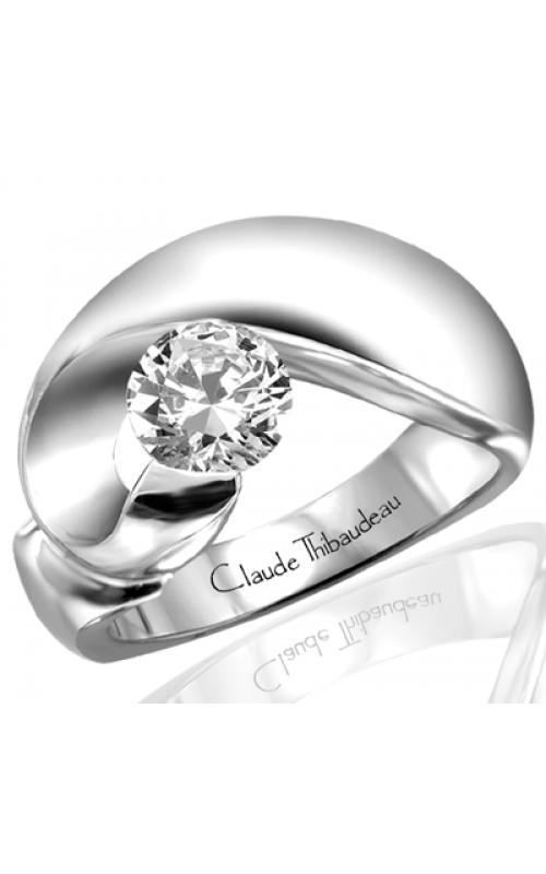 Claude Thibaudeau Avant-Garde Engagement ring PLT-1212 product image