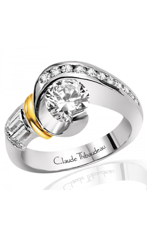 Claude Thibaudeau Avant-Garde Engagement Ring PLT-1259 product image