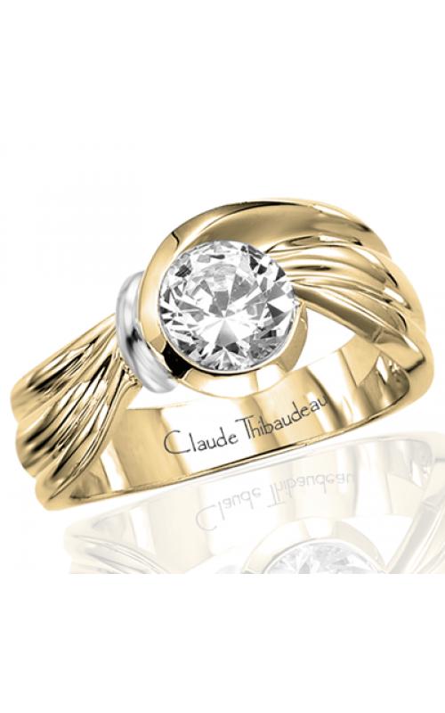 Claude Thibaudeau Avant-Garde Engagement ring PLT-2417 product image