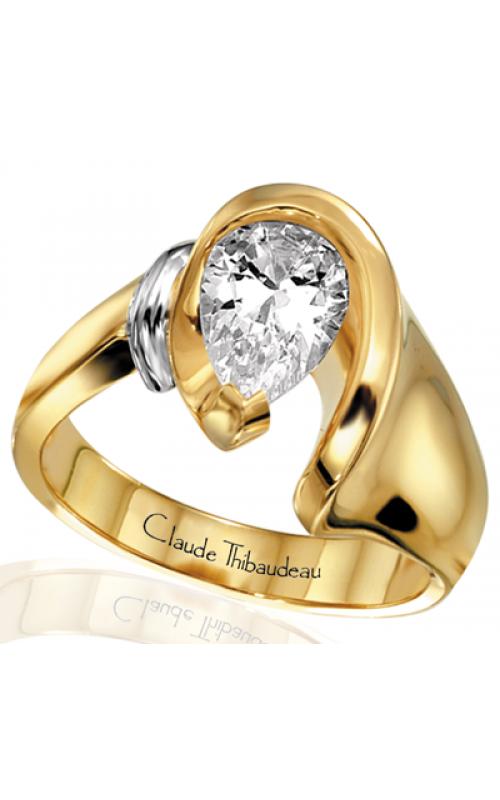 Claude Thibaudeau Avant-Garde Engagement ring PLT-2430 product image