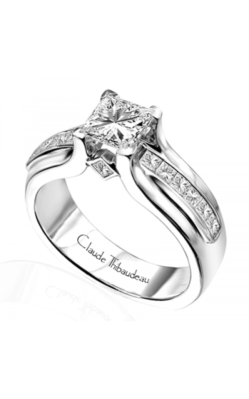 Claude Thibaudeau Avant-Garde Engagement ring PLT-1505 product image