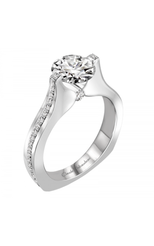 Claude Thibaudeau Simplicite Engagement ring PLT-1992-MP product image