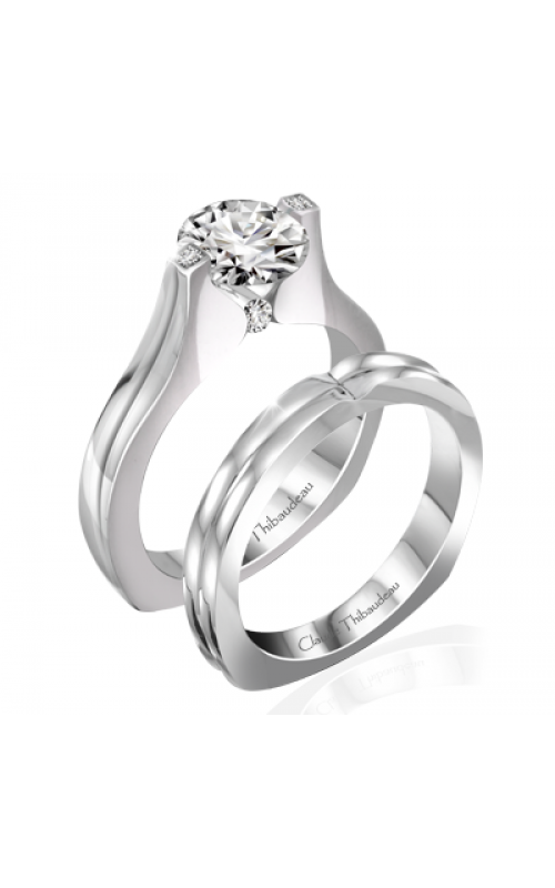 Claude Thibaudeau Simplicite Engagement ring PLT-10034 product image