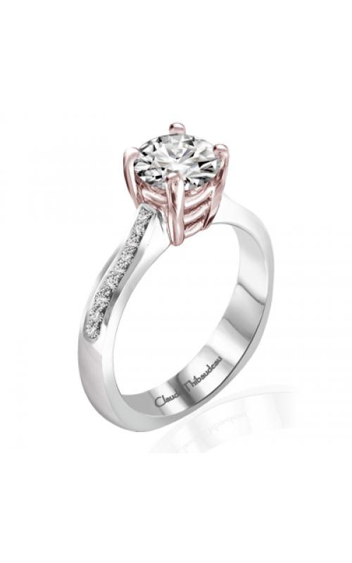 Claude Thibaudeau Simplicite Engagement Ring PLT-1953R-MP product image