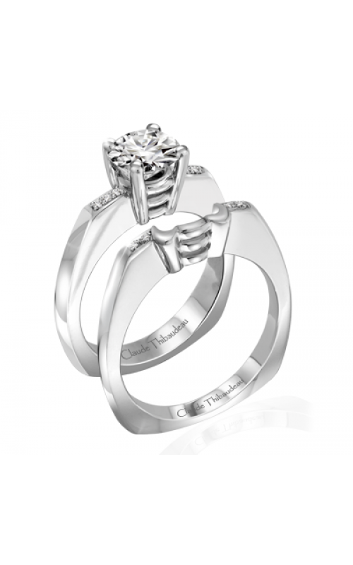 Claude Thibaudeau Simplicite Engagement ring PLT-1949-MP product image