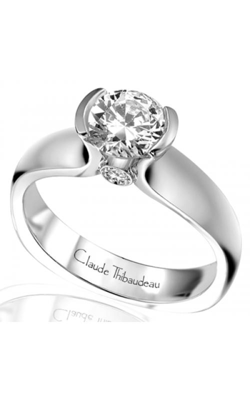 Claude Thibaudeau Simplicite Engagement ring PLT-1548 product image